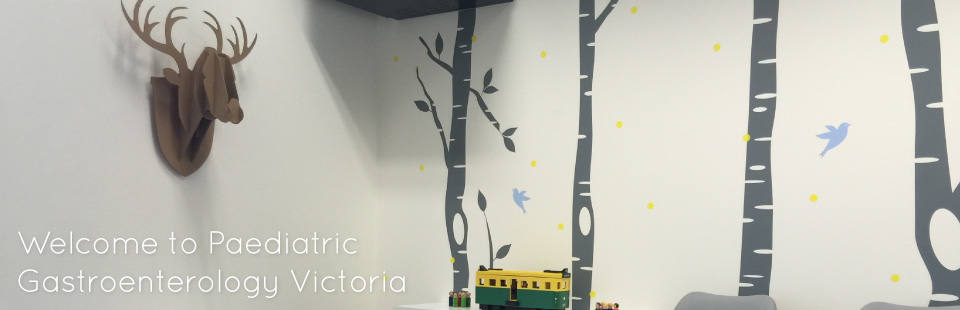 Welcome to Paediatric Gastroenterology Victoria